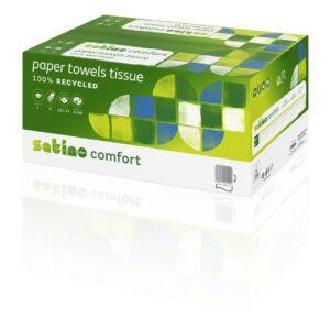 Satino Comfort Handdoekpapier Tissue V-vouw 2-laags